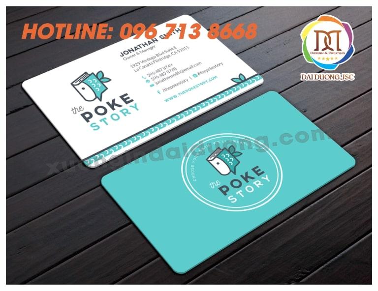 in card visit